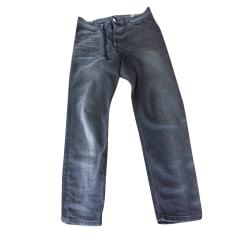 Pantalon slim DIESEL Gris, anthracite