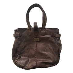 Leather Handbag ZADIG & VOLTAIRE Brown