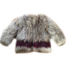 Fur Coat ZADIG & VOLTAIRE Green