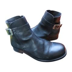 Bottines & low boots plates KENZO Noir