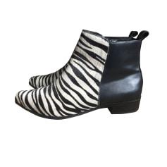 Bottines & low boots plates CLAUDIE PIERLOT Imprimés animaliers