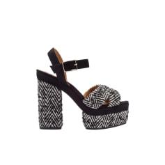 Sandales à talons CASTANER Noir