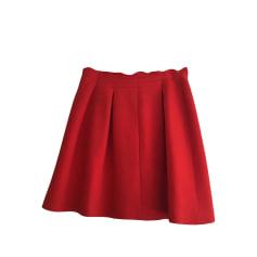 Jupe courte CLAUDIE PIERLOT Rouge, bordeaux