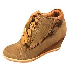 Bottines & low boots à compensés PEPE JEANS Beige, camel