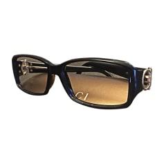 Monture de lunettes GUCCI Noir doré