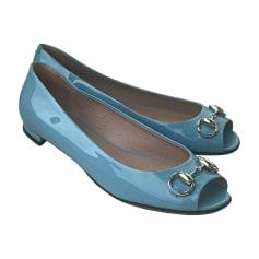 Ballerines GUCCI Bleu, bleu marine, bleu turquoise