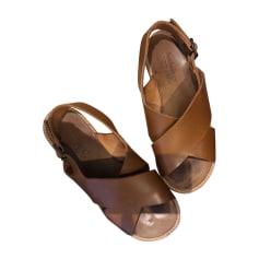 Sandales plates  ANTHOLOGY PARIS Marron