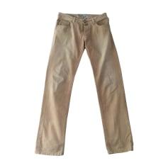 Pantalon slim JACOB COHEN Beige, camel