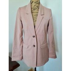 Blazer, veste tailleur H&M Rose, fuschia, vieux rose