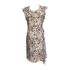 147e9f09bee8 Robes Femme Soie Marron de marque   luxe pas cher - Videdressing
