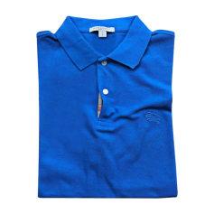 Polo BURBERRY Bleu, bleu marine, bleu turquoise