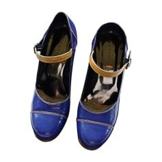 Riemchenpumps BARBARA BUI Blau, marineblau, türkisblau