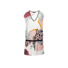 Mini-Kleid COP-COPINE Mehrfarbig