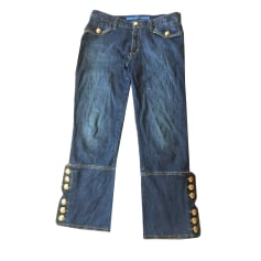 Pantalone dritto ESCADA SPORT Blu, blu navy, turchese