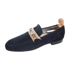 Loafers CESARE PACIOTTI Blue, navy, turquoise