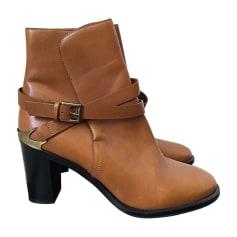 Bottines & low boots à talons FRATELLI ROSSETTI Beige, camel