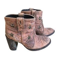 Bottines & low boots à talons MEXICANA Beige, camel