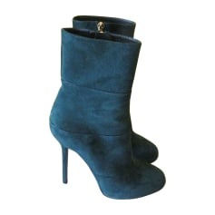 High Heel Ankle Boots SERGIO ROSSI Green