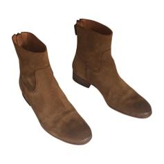 Bottines & low boots plates ANTHOLOGY PARIS Marron