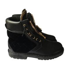 Bottines & low boots plates BALMAIN Noir