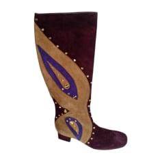 Flat Boots BORBONESE Multicolor