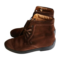 Bottines TOD'S Marron