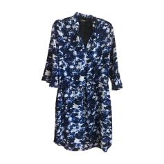 Robe mi-longue RALPH LAUREN Bleu