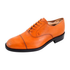 Chaussures à lacets TOD'S Orange