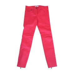 Pantalon slim, cigarette GIVENCHY Rouge, bordeaux