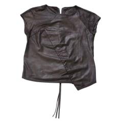 Top, T-shirt MARITHÉ ET FRANÇOIS GIRBAUD Black