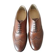 Lace Up Shoes FAÇONNABLE Brown