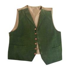Gilet de costume GIVENCHY Vert