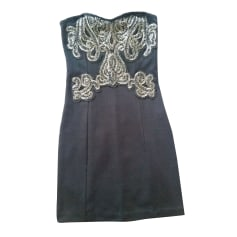 Corset Dress FREE PEOPLE Black