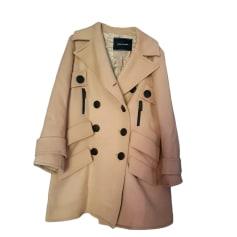 Paletot Jacket LONGCHAMP Beige, camel