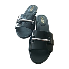 Clogs RALPH LAUREN Black