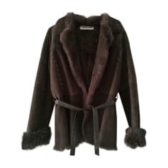 Fur Jackets YVES SALOMON Brown