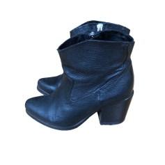 Bottines & low boots à talons ALL SAINTS Noir