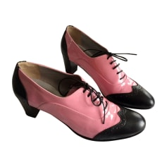 High Heel Ankle Boots CAREL Pink, fuchsia, light pink