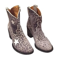 High Heel Ankle Boots MEXICANA Animal prints