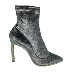 High Heel Ankle Boots JIMMY CHOO Black