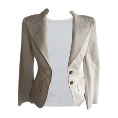 Blazer, veste tailleur DOLCE & GABBANA Blanc, blanc cassé, écru