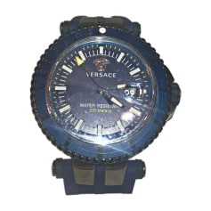 Montre au poignet VERSACE Bleu, bleu marine, bleu turquoise