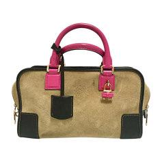 Leather Handbag LOEWE Beige, camel