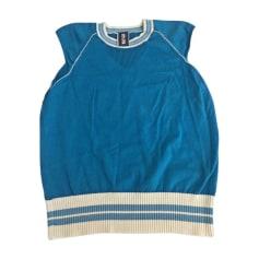 Pull JEAN PAUL GAULTIER Bleu, bleu marine, bleu turquoise