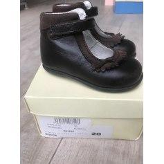 Velcro Shoes JACADI Brown