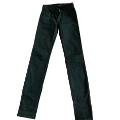 Jeans slim THE KOOPLES Vert