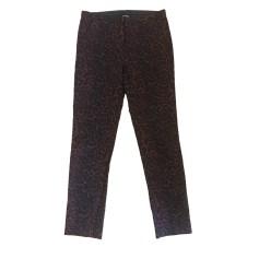 Pantalon slim, cigarette THE KOOPLES Rouge, bordeaux