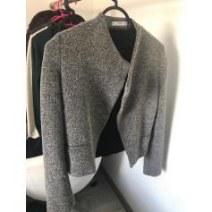 Manteau veste femme gris