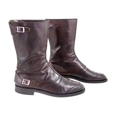 Boots SALVATORE FERRAGAMO Brown
