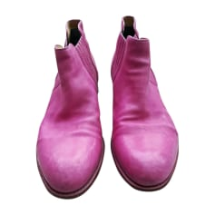 Bottines JEAN BAPTISTE RAUTUREAU Rose, fuschia, vieux rose